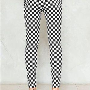 Nasty Gal Pants & Jumpsuits - Nasty Gal Check Please Checkerboard Pants